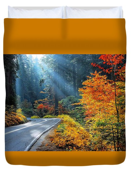 Road To Glory  Duvet Cover by Lynn Bauer