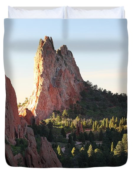 Rock Of Ages Duvet Cover by Eric Glaser