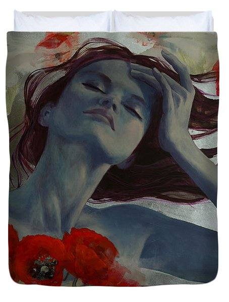 Romance Echo Duvet Cover by Dorina  Costras