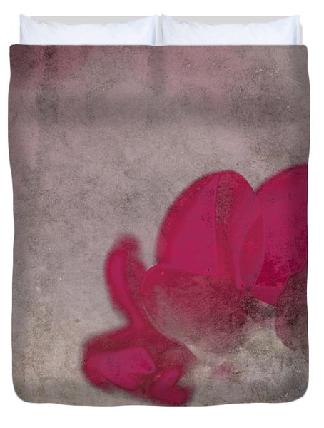 Rondo Floral - 22t02 Duvet Cover by Variance Collections