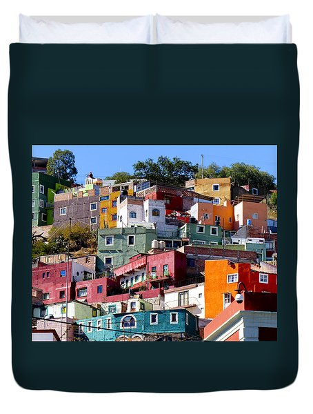 Rooms With Views Duvet Cover by Douglas J Fisher