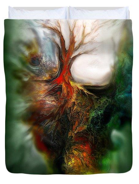 Roots Duvet Cover by Carol Cavalaris