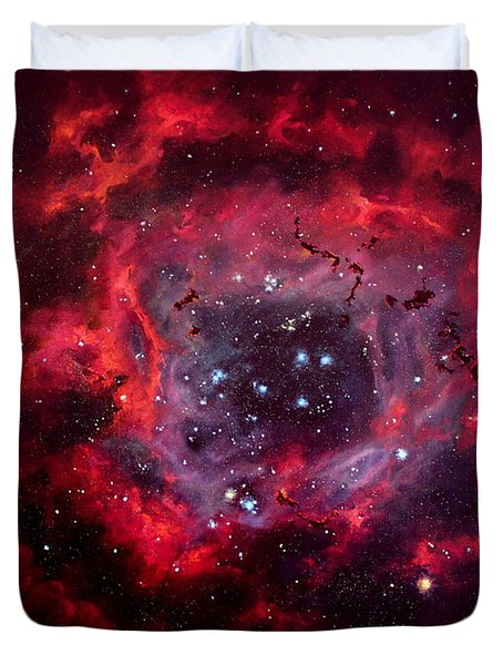 Rosetta Nebula Duvet Cover by Marie Green