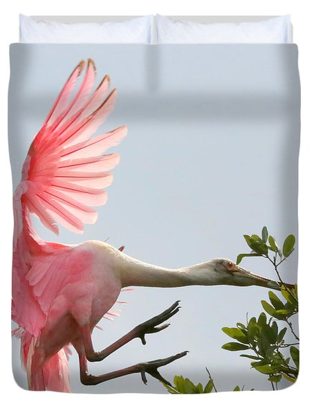 Rough Landing Duvet Cover by Carol Groenen