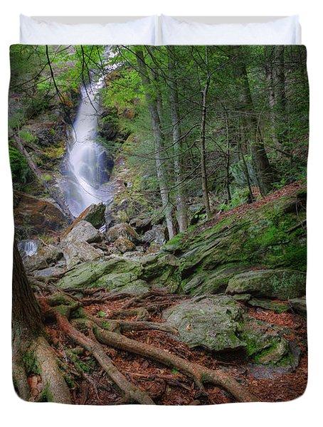 Rough Terrain Duvet Cover by Bill  Wakeley