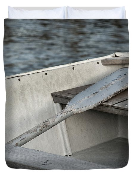 Rowboat Duvet Cover by Charles Harden