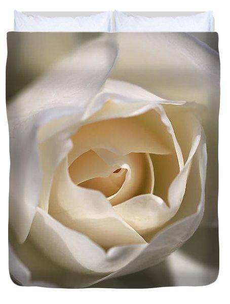 Royal White Duvet Cover by Joy Watson