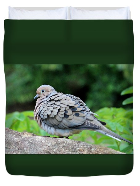 Ruffled Feathers Duvet Cover by Cynthia Guinn