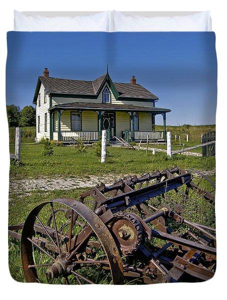 Rural Ontario Duvet Cover by Steve Harrington