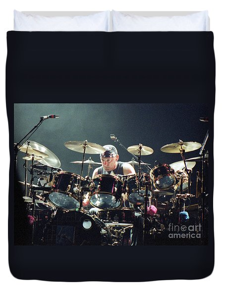 RUSH92-Neil-A010 Duvet Cover by Timothy Bischoff