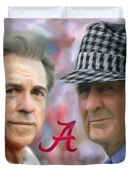 Saban And Bear Duvet Cover by Mark Spears