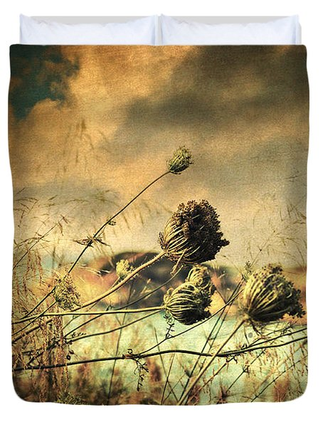 Sad Song of the Wind Duvet Cover by Taylan Soyturk
