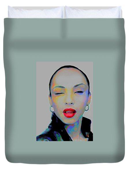 Sade 3 Duvet Cover by  Fli Art
