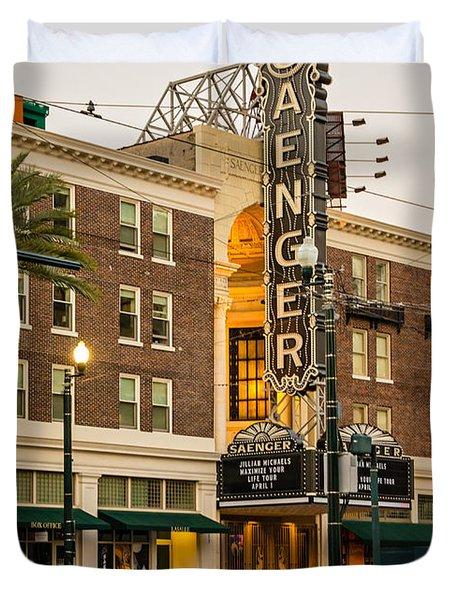 Saenger Theatre New Orleans Duvet Cover by Steve Harrington