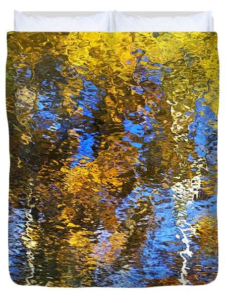 Safari Mosaic Abstract Art Duvet Cover by Christina Rollo