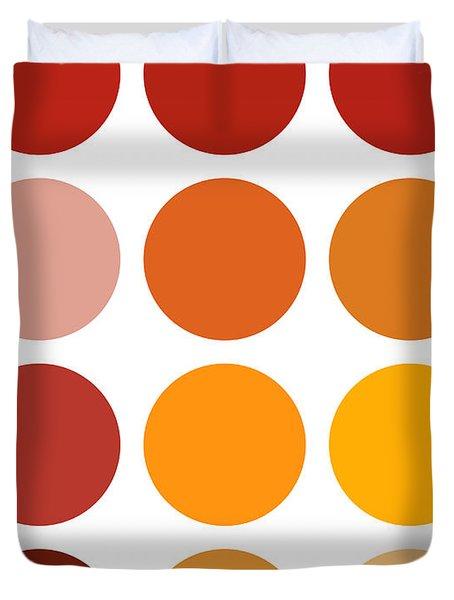 Saffron Colors Duvet Cover by Frank Tschakert
