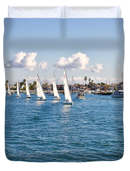 Sailing Duvet Cover by Angela A Stanton