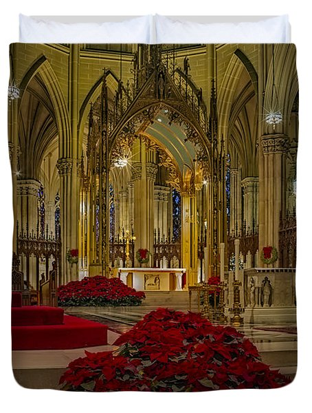 Saint Patricks Cathedral Duvet Cover by Susan Candelario