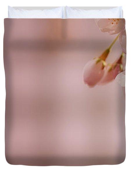 Sakura Duvet Cover by Lisa Knechtel