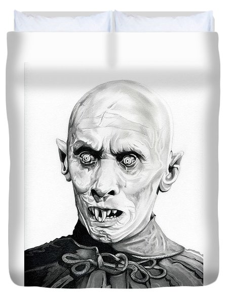 Salem's Lot Duvet Cover by Fred Larucci