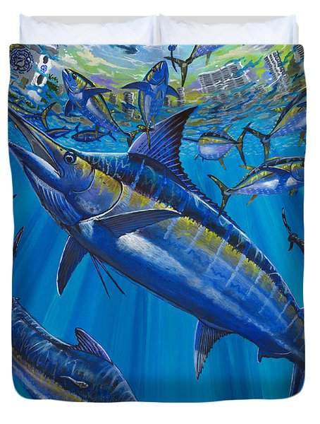 Salinas Off006 Duvet Cover by Carey Chen