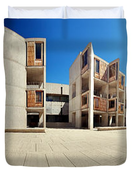 Salk Institute Duvet Cover by Nomad Art And  Design