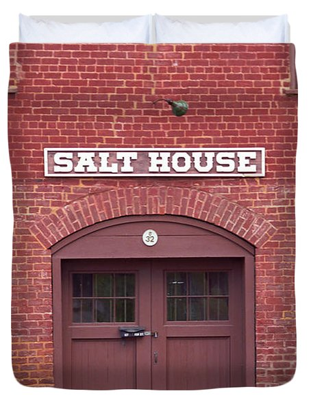 Salt House Jonesborough Tennessee Duvet Cover by Frank Romeo