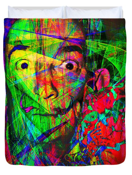 Salvador Dali 20130613 Duvet Cover by Wingsdomain Art and Photography