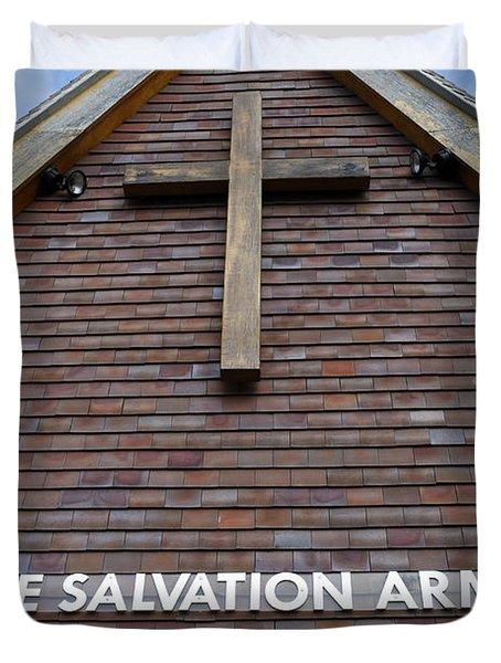 Salvation Duvet Cover by Doug Wilton