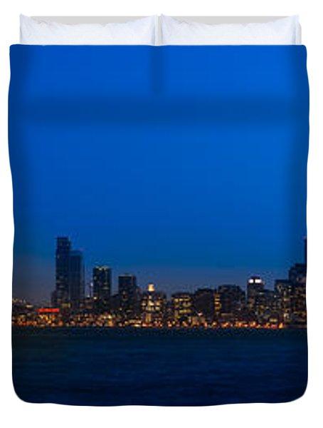 San Francisco Bay Duvet Cover by Steve Gadomski