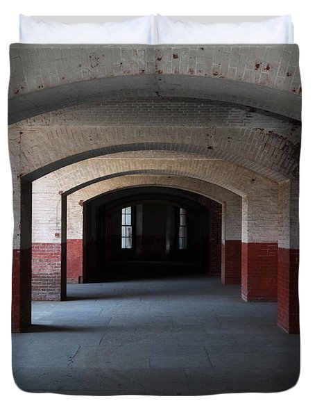 San Francisco Fort Point 5d21544 Duvet Cover by Wingsdomain Art and Photography