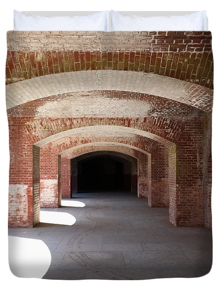 San Francisco Fort Point 5d21546 Duvet Cover by Wingsdomain Art and Photography
