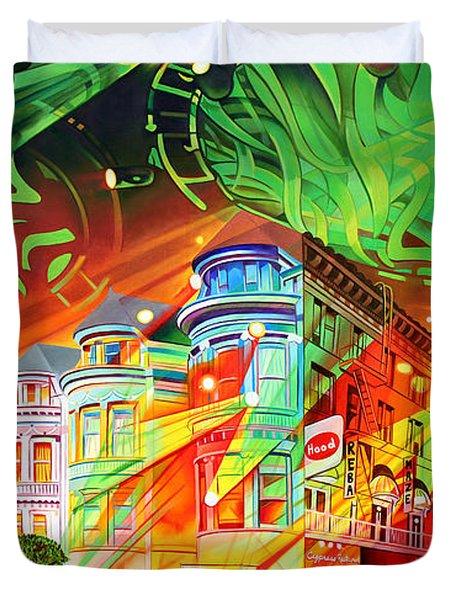 San Phranphisco Duvet Cover by Joshua Morton