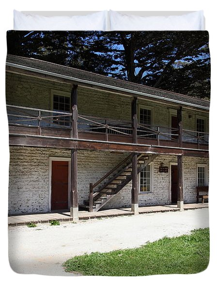 Sanchez Adobe Pacifica California 5d22643 Duvet Cover by Wingsdomain Art and Photography