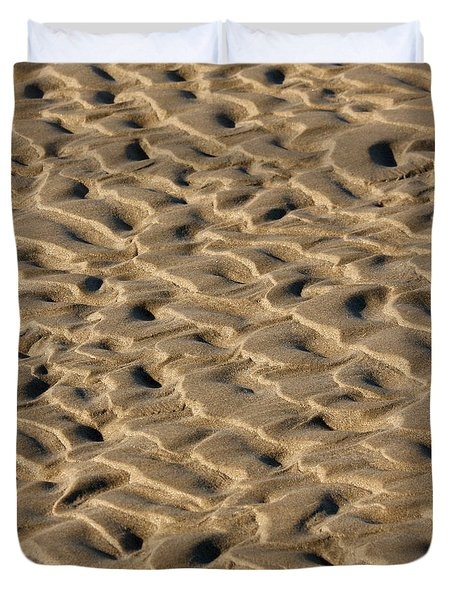 Sand Patterns Duvet Cover by Art Block Collections