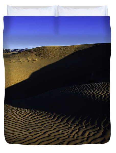 Sand Ripples Duvet Cover by Chad Dutson