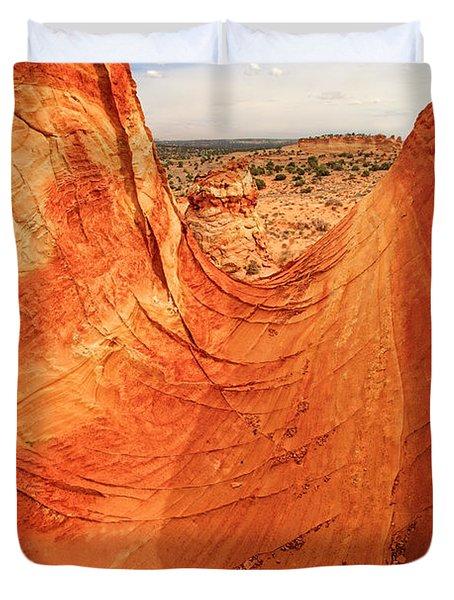 Sandstone Bowl Duvet Cover by Inge Johnsson