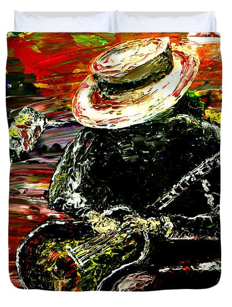 Santana Duvet Cover by Mark Moore
