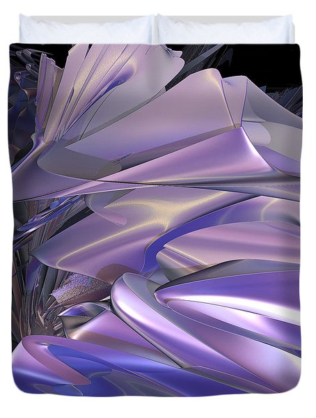 Satin Wing By Jammer Duvet Cover by First Star Art