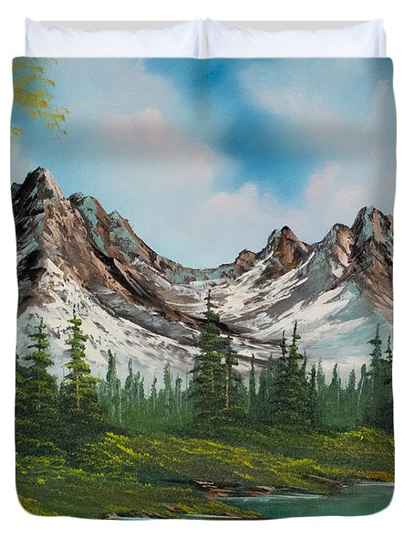 Sawtooth Saddle Duvet Cover by C Steele