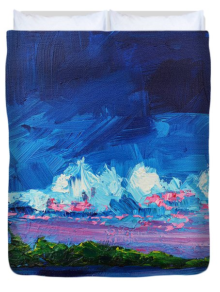 Scenic Landscape Duvet Cover by Patricia Awapara