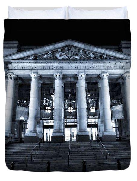 Schermerhorn Symphony Center Duvet Cover by Dan Sproul