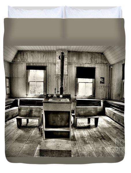 School Room Duvet Cover by Kathleen Struckle