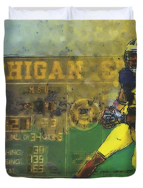 Scoreboard Plus Duvet Cover by John Farr