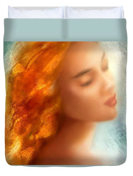 Sea Nymph Dream Duvet Cover by Michael Rock