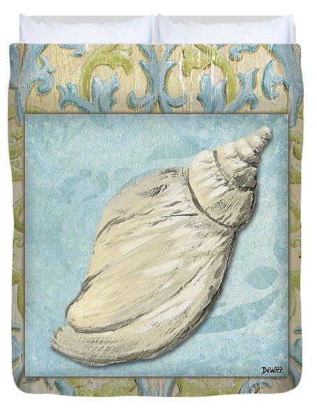 Sea Spa Bath 2 Duvet Cover by Debbie DeWitt