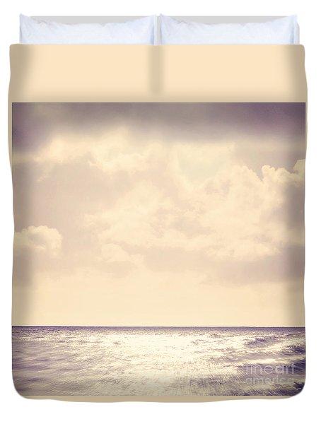 Sea Sparkle Duvet Cover by Lyn Randle