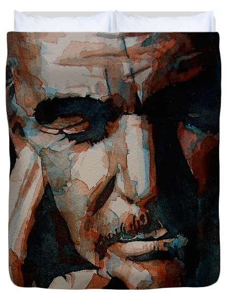 Sean Connery  Duvet Cover by Paul Lovering