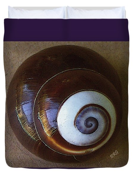 Seashells Spectacular No 26 Duvet Cover by Ben and Raisa Gertsberg