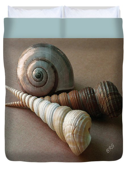 Seashells Spectacular No 29  Duvet Cover by Ben and Raisa Gertsberg